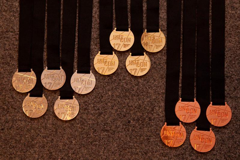 Medaillenausbeute der Garser