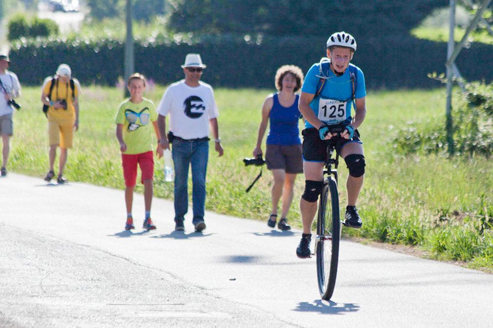 Montag, 3.8. – 10 km und Bahnrennen