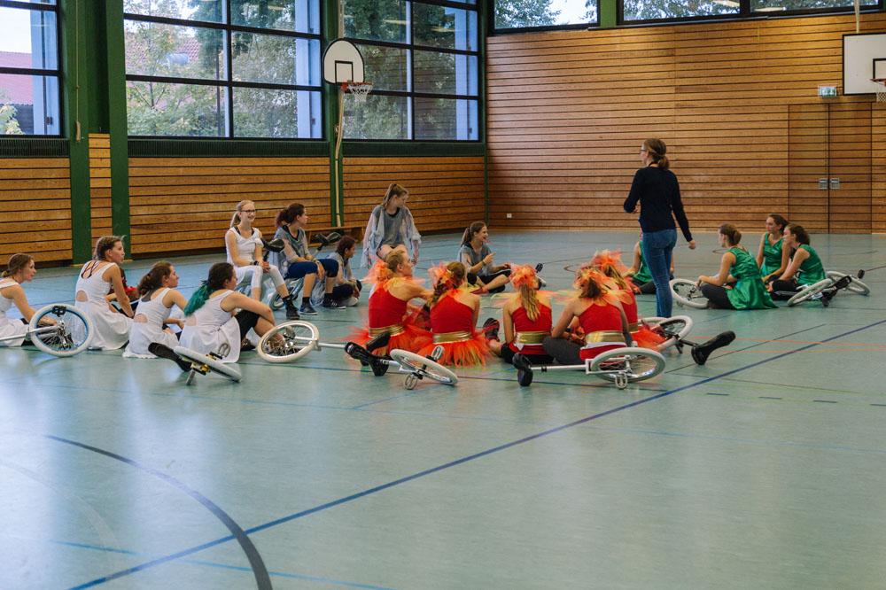 Freestyleteam Bayern trainiert in Gars