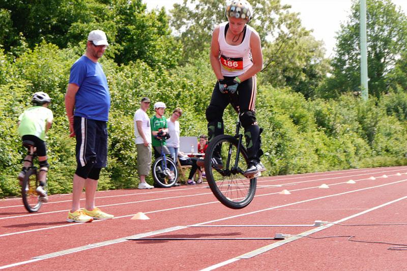 DM Einradrennen in Warendorf