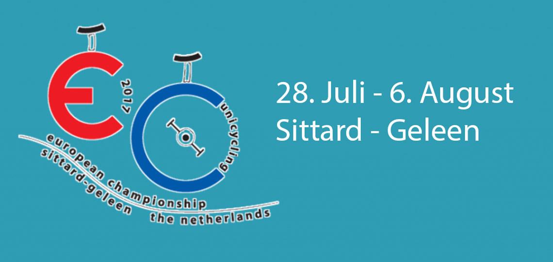 European Championships Unicycling Sittard/Niederlande