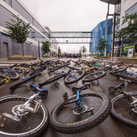 Cyclocross, Mannschaftssportarten und Trialfinale